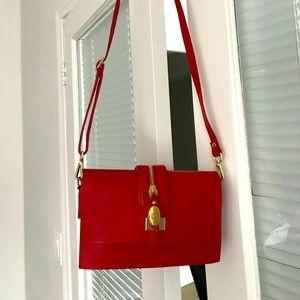Saffiano leather purse